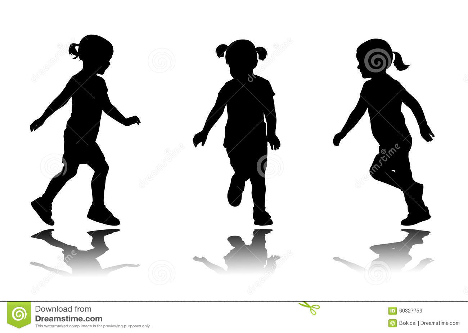 Little Girl Silhouette | www.pixshark.com - Images ...