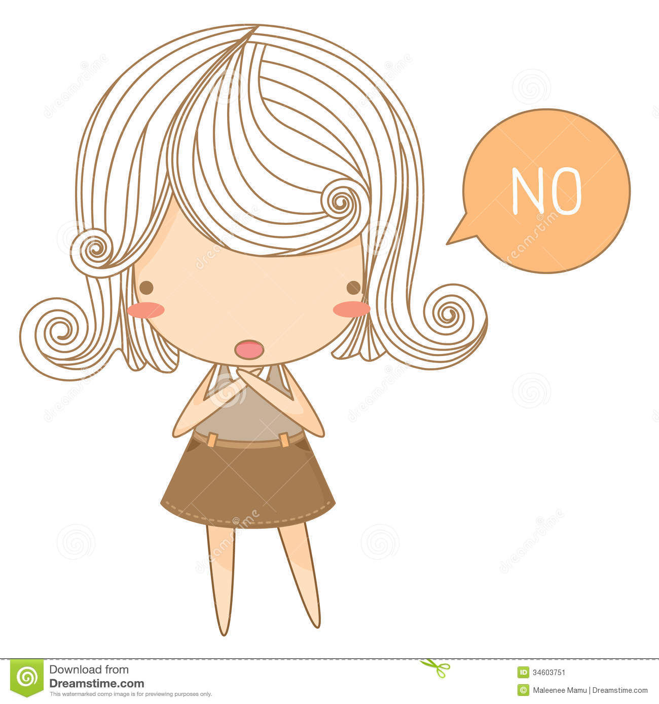 How to say no to a girl