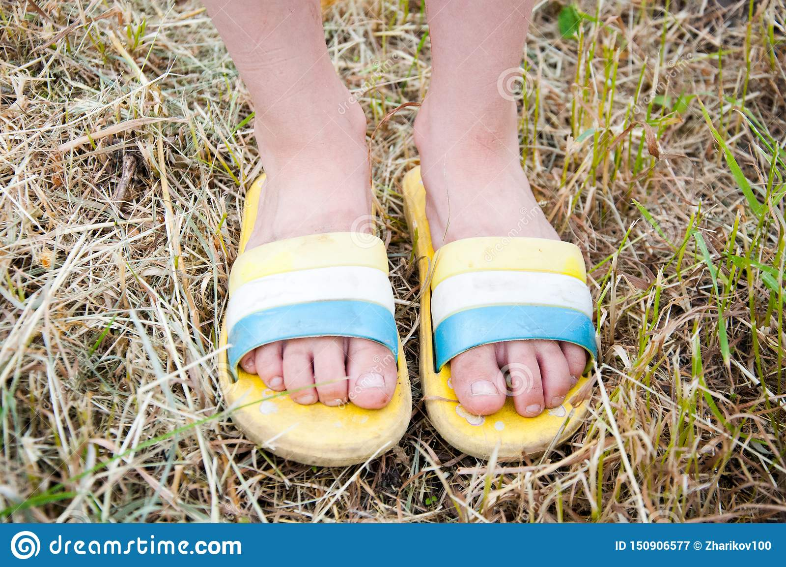 150 Little Girl Flip Flops Photos