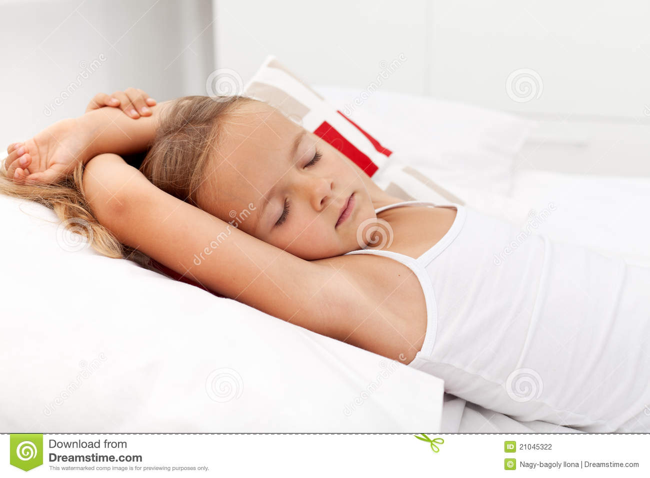 Picture of a girl sleeping