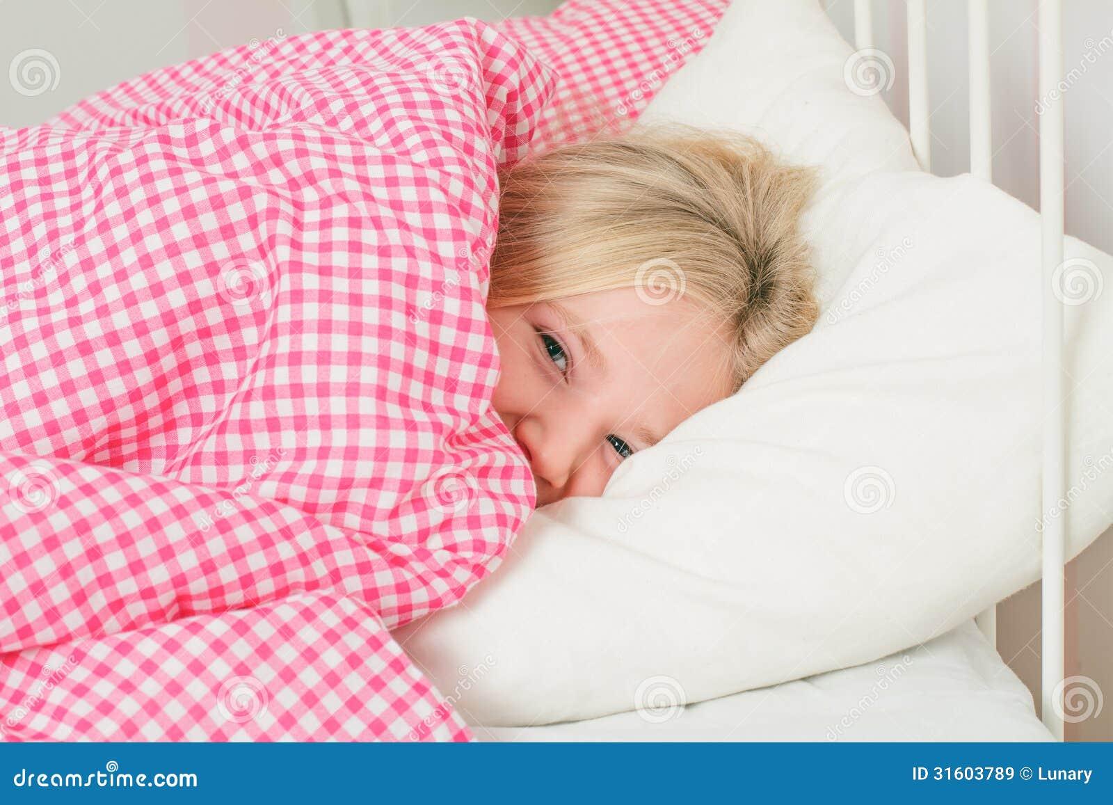 Topic little girl sleeping facial