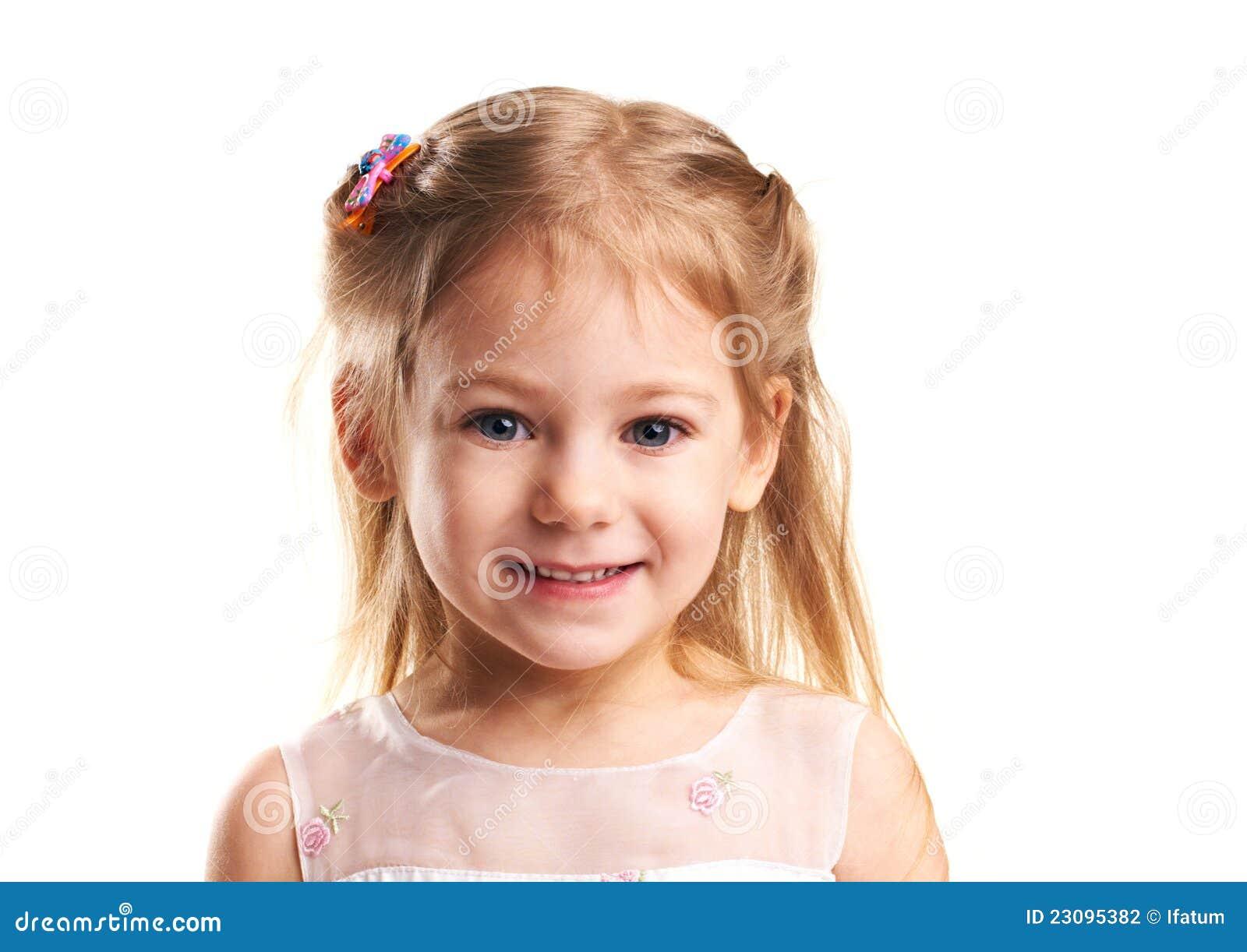 little girl smiles stock photography image 23095382
