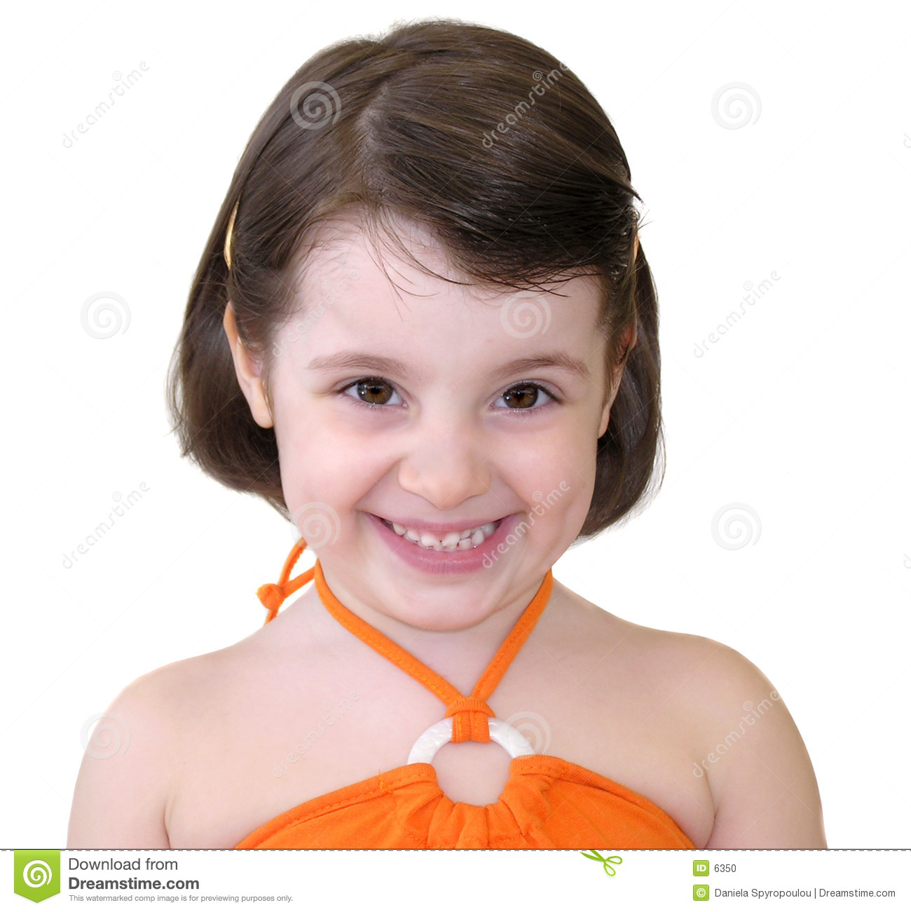Download Little girl smiling stock photo. Image of beauty, happiness - 6350