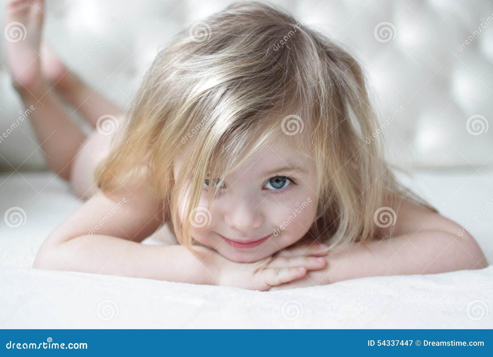 Little Girl Stock Photo Image 54337447