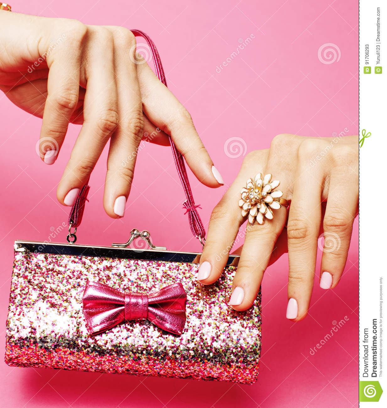 Little Girl Stuff For Princess, Woman Hands Holding Small Cute ...