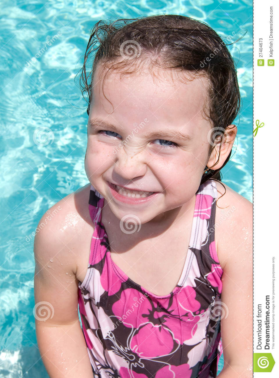 Little girl in swimming pool stock photos image 27404673 - Female only swimming pool melbourne ...