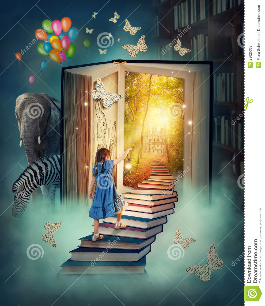 little girl walking up stairs stock image image 28625367