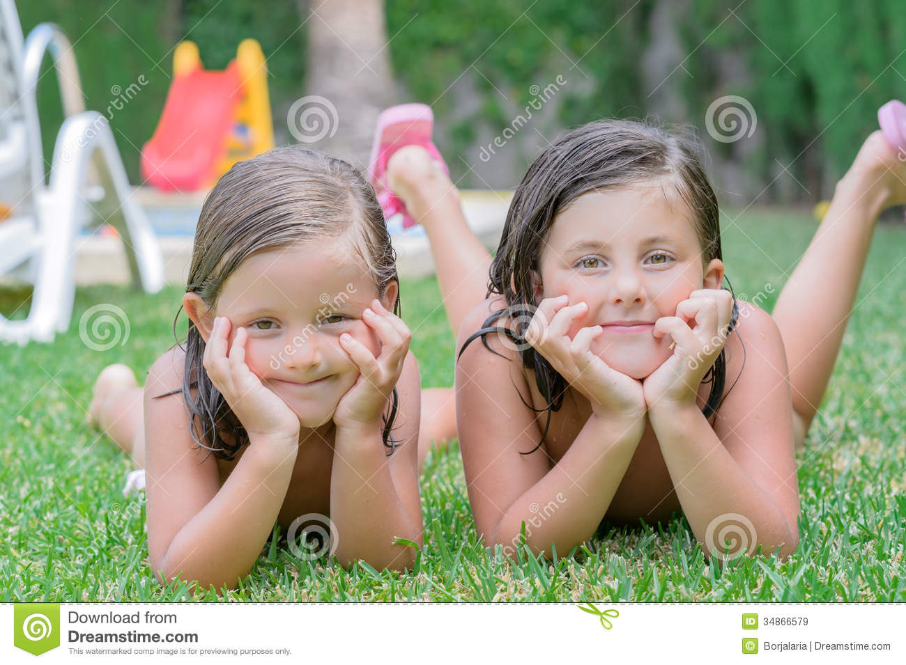 Little girls stock image image of colorful hair blond 34866579 - Pics of small little girls ...