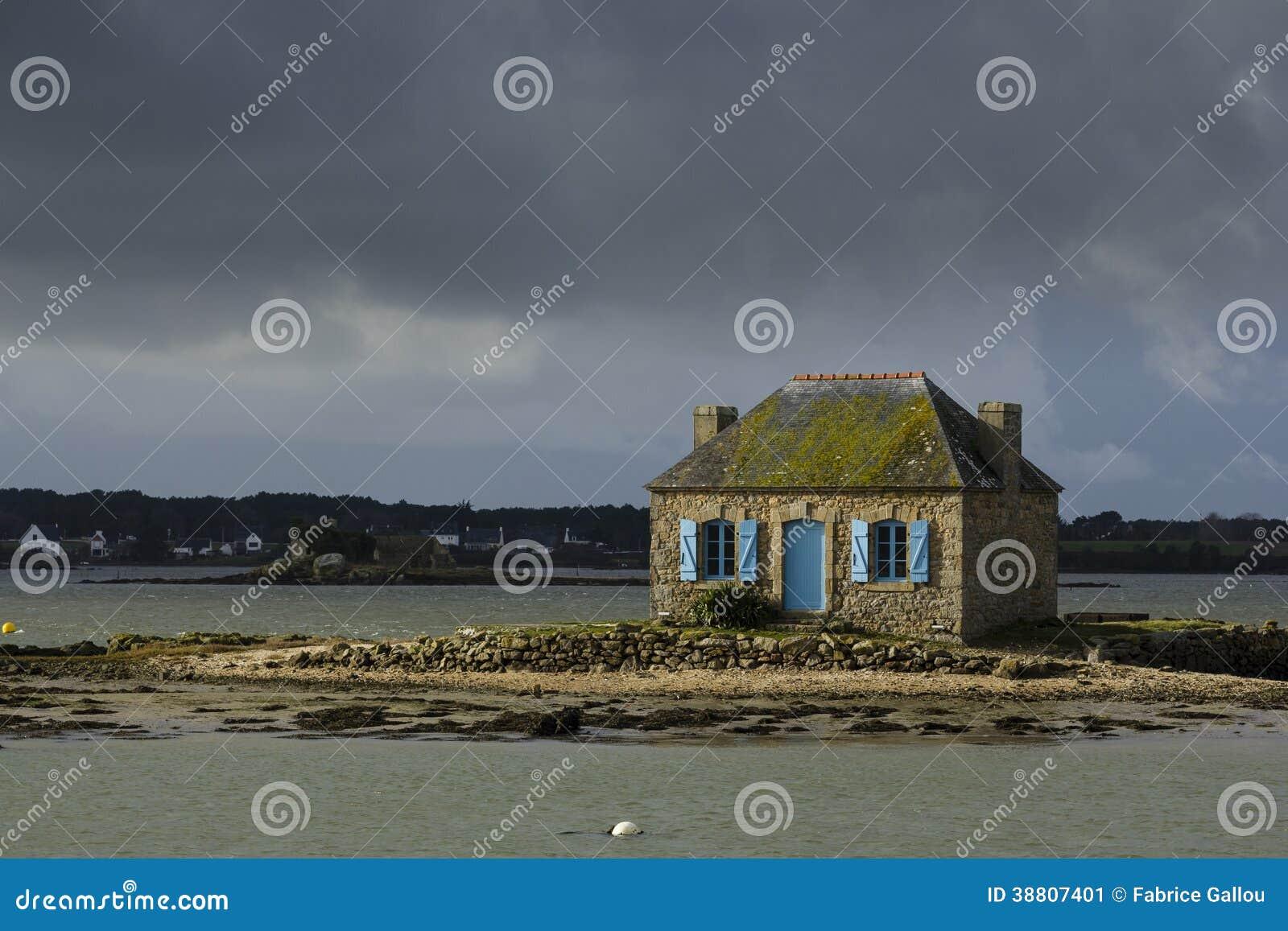 Little house on the island