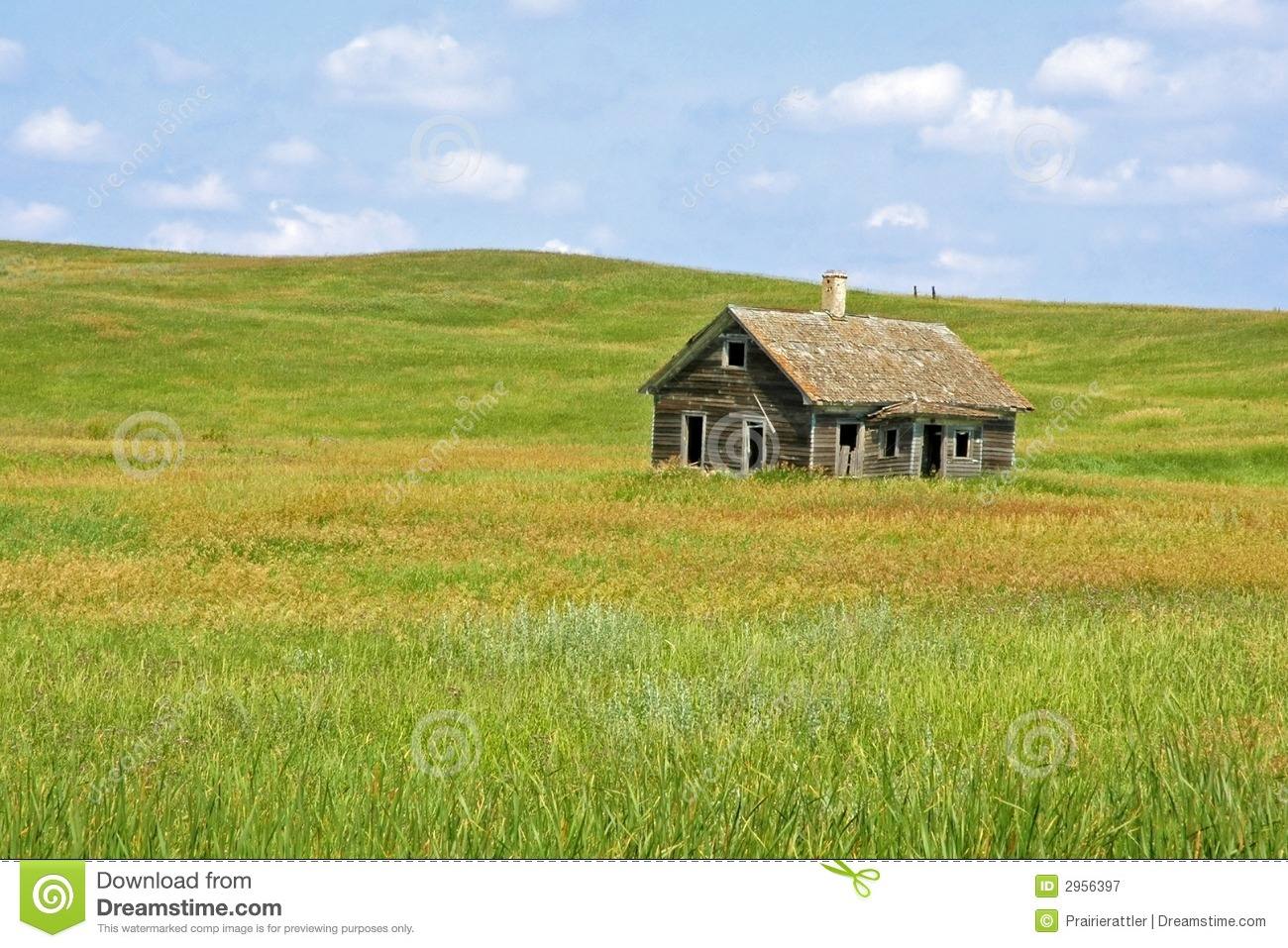 Little House On The Prairie Royalty Free Stock Photography