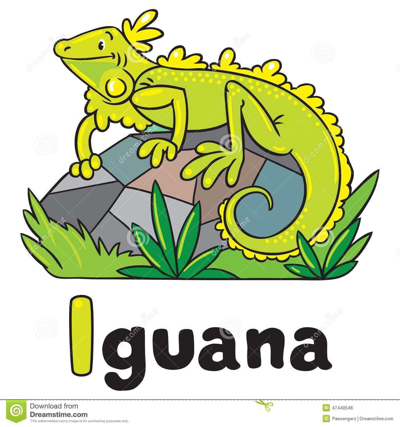 little iguana for abc alphabet i stock vector image clip art zebra mussel clipart zebras from lion king