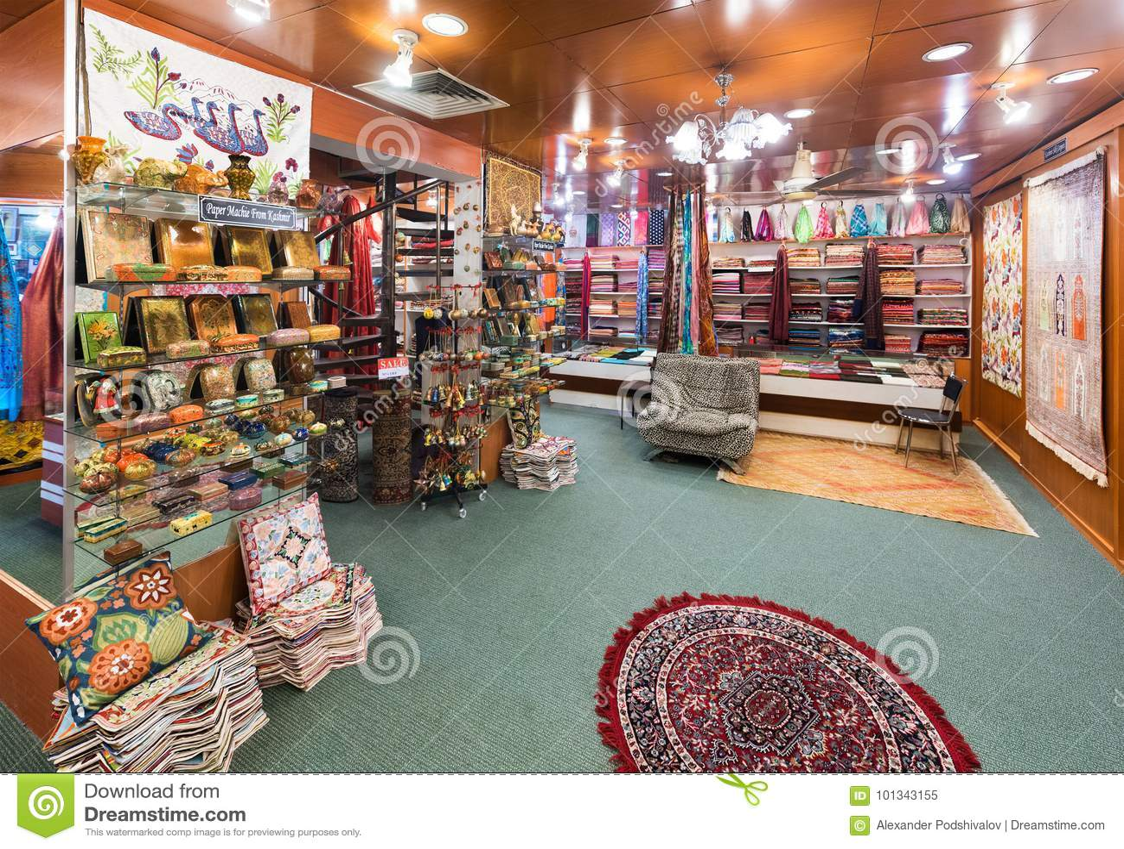 Little Kashmir Handicrafts Store At Central Market Kuala Lumpur