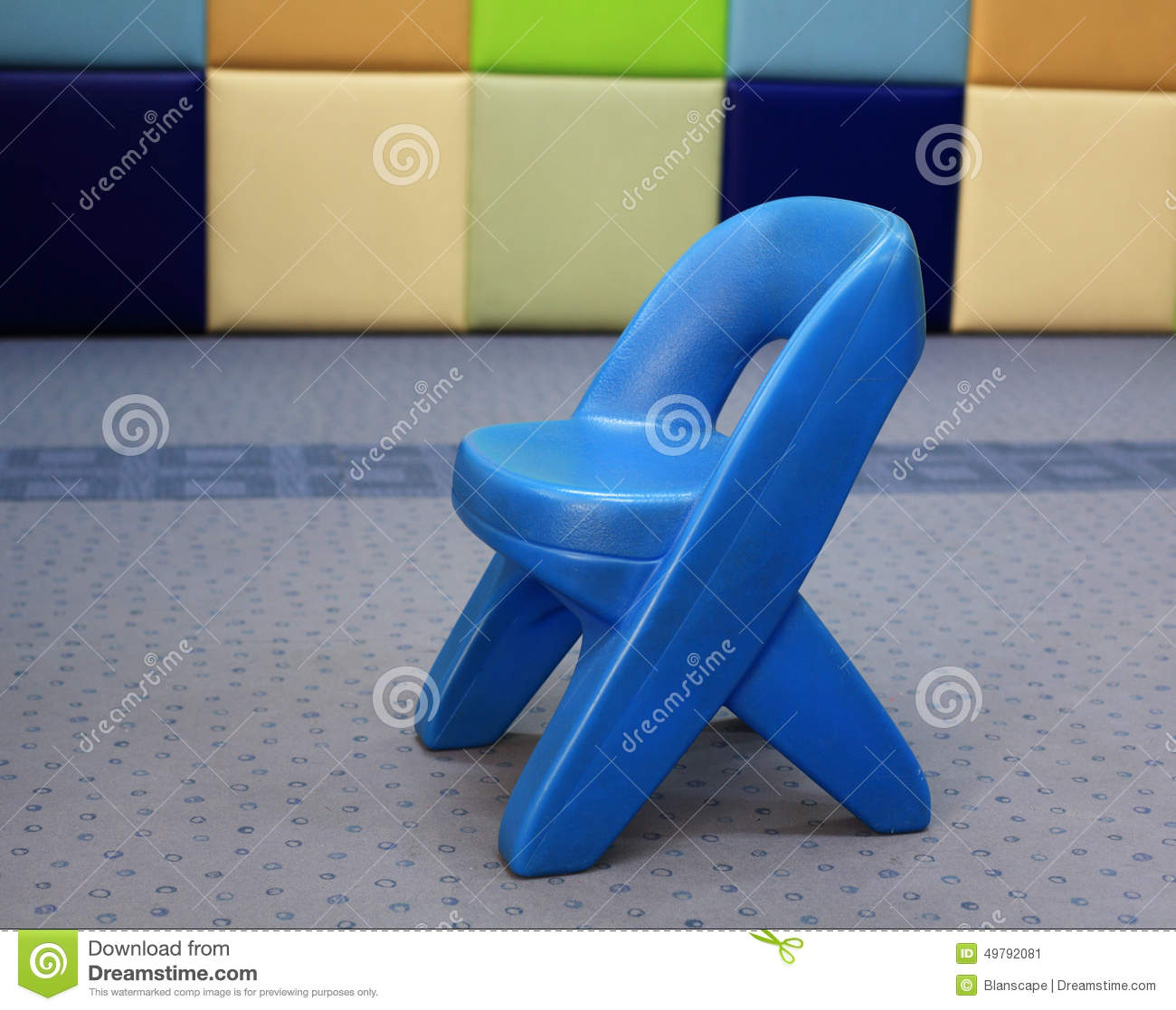 Surprising Little Kid Plastic Chair Or Stool Stock Image Image Of Squirreltailoven Fun Painted Chair Ideas Images Squirreltailovenorg