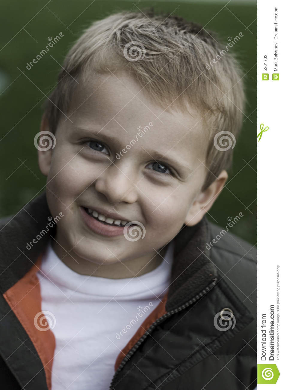 Little Kid Smiling Stock Photography - Image: 5201702
