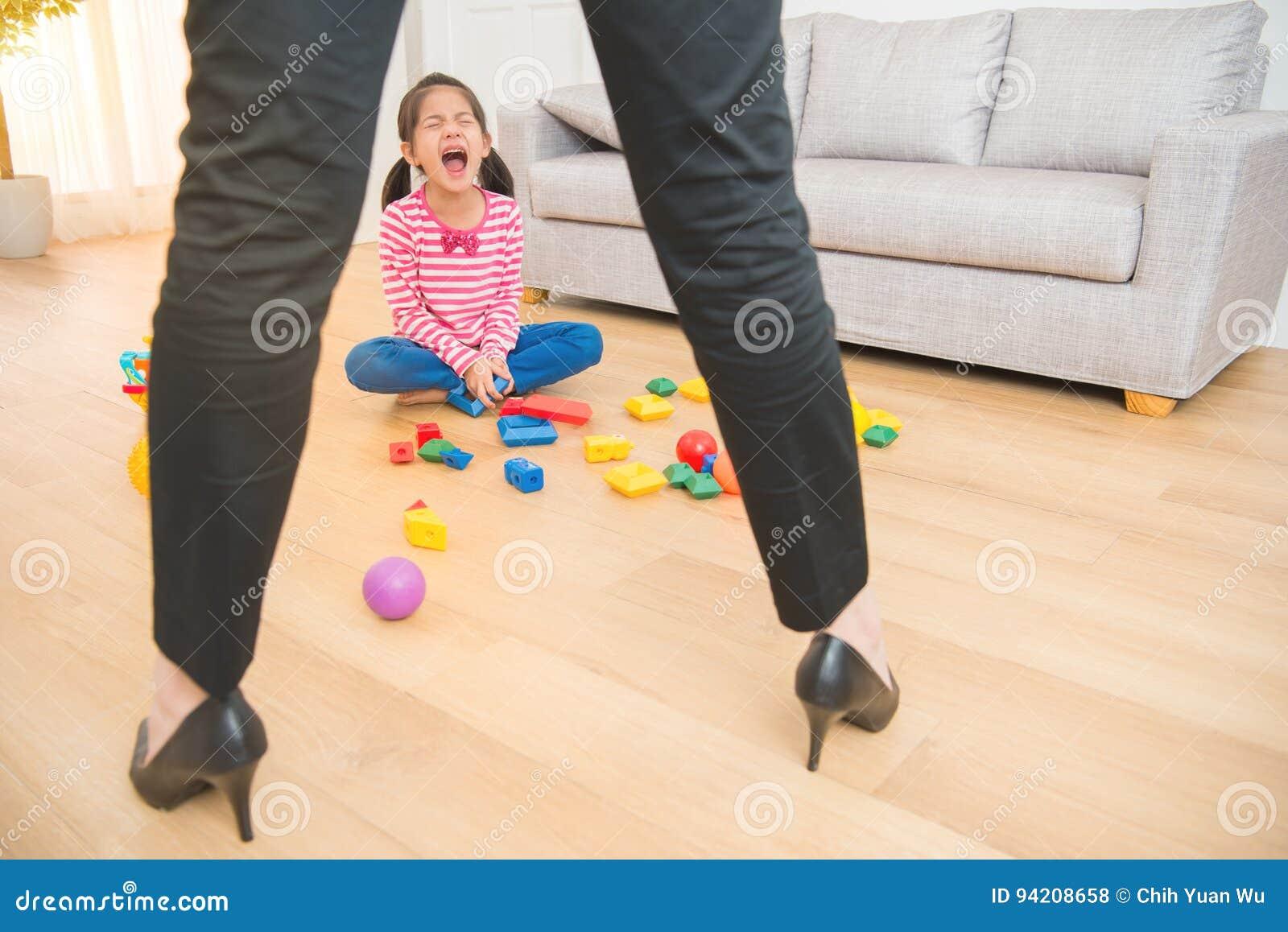 Girl Busy With Toys Stock Photography | CartoonDealer.com ...