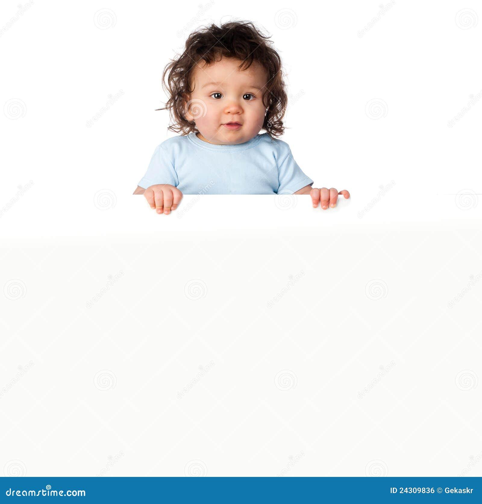 Little kids ower a white background