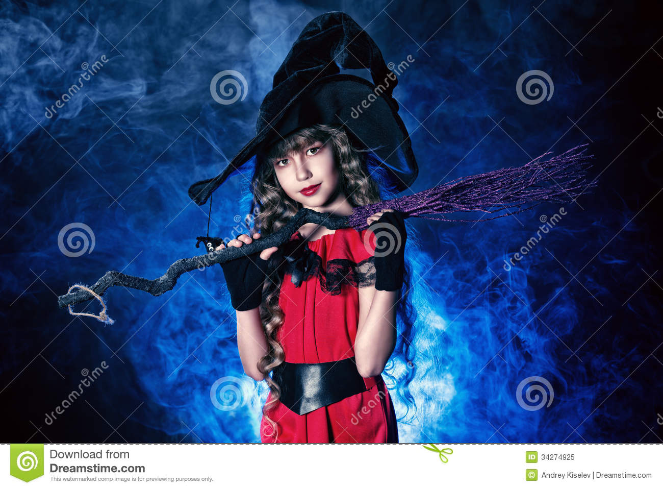 Little Magician Stock Image Image Of Background
