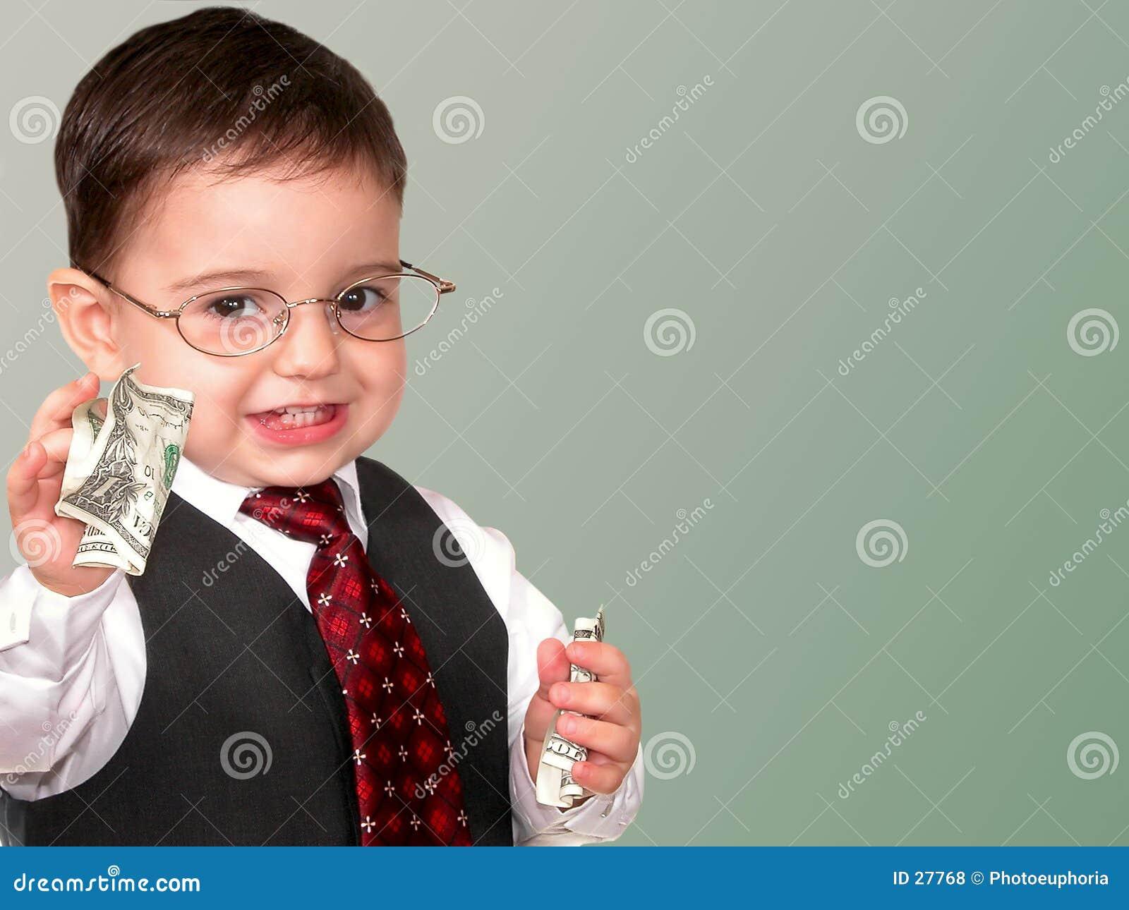 Little Man Series: Mr. Money Bags