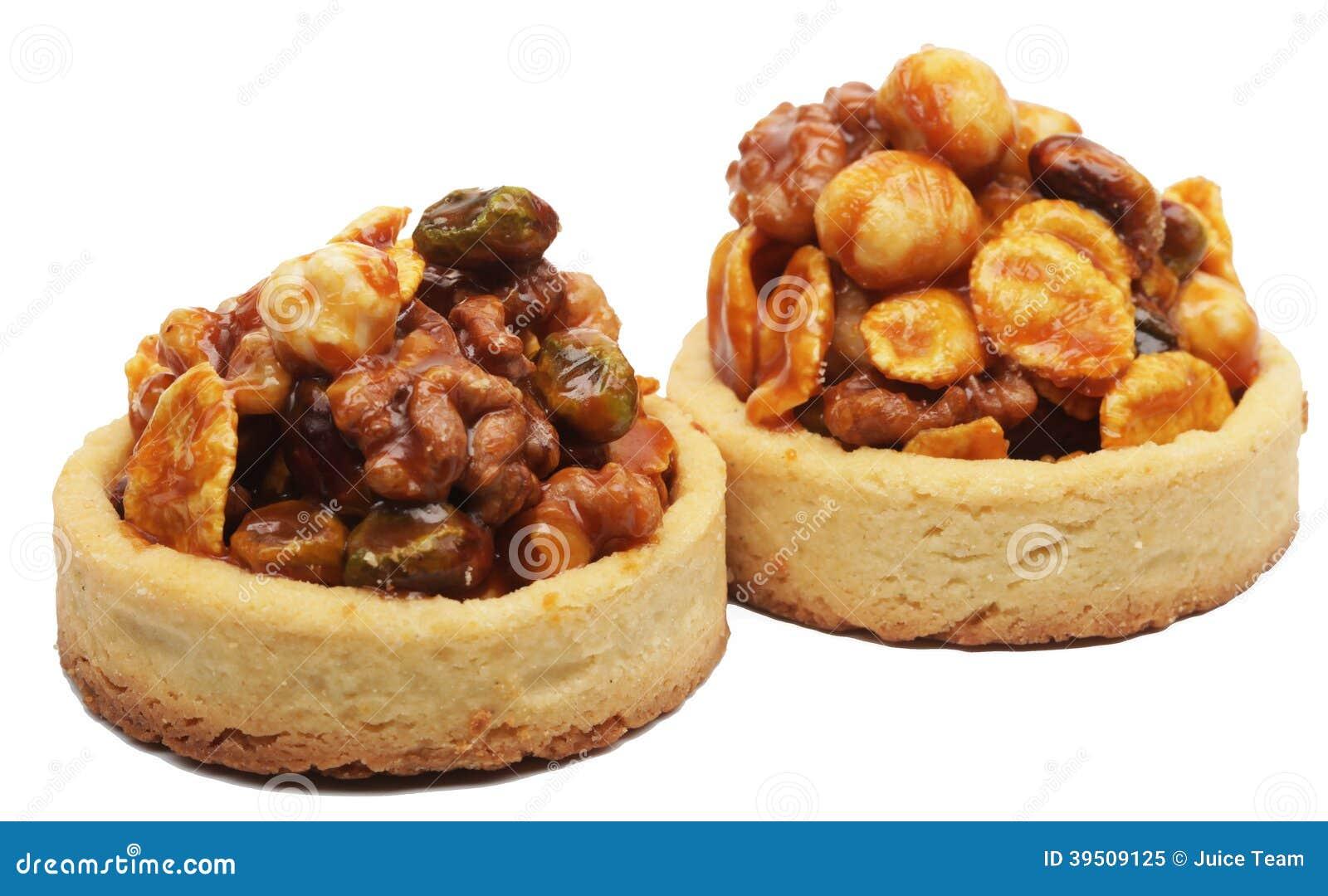 Little nuts tarts.