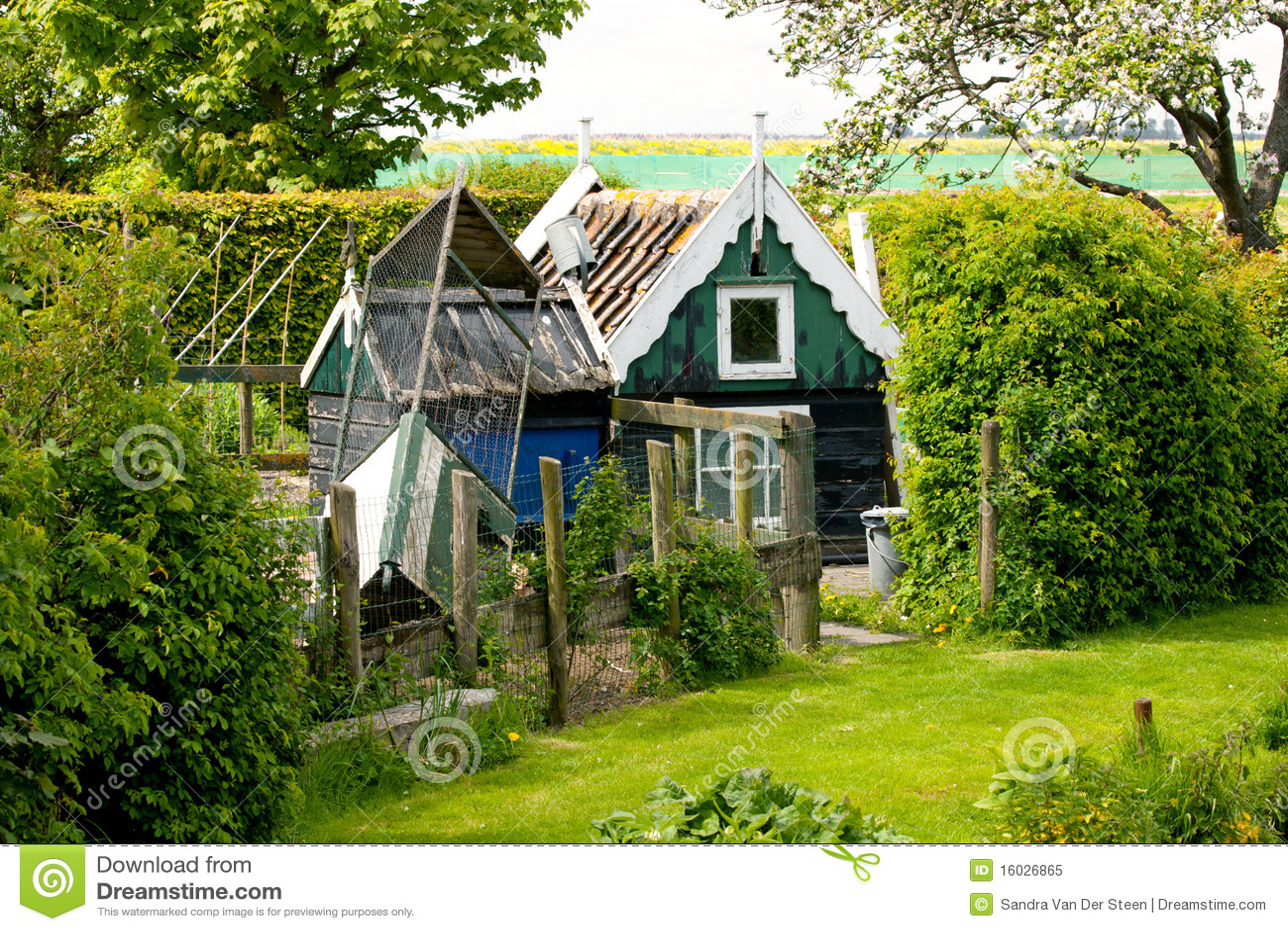 Little Old Animal Livestock Barn Stock Image - Image of ...