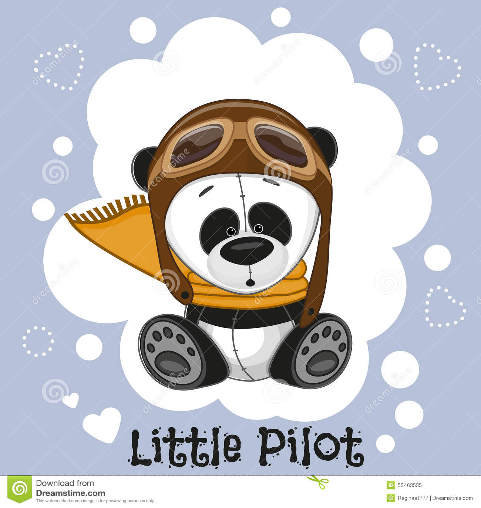 84bab6a644 Little Pilot stock vector. Illustration of glasses