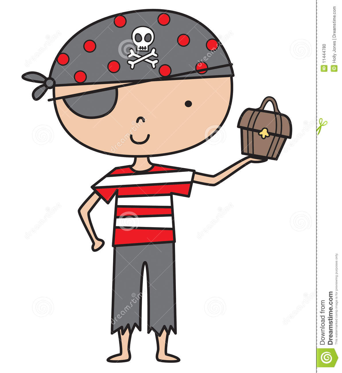 Little Pirate Boy Stock Photo - Image: 11444780