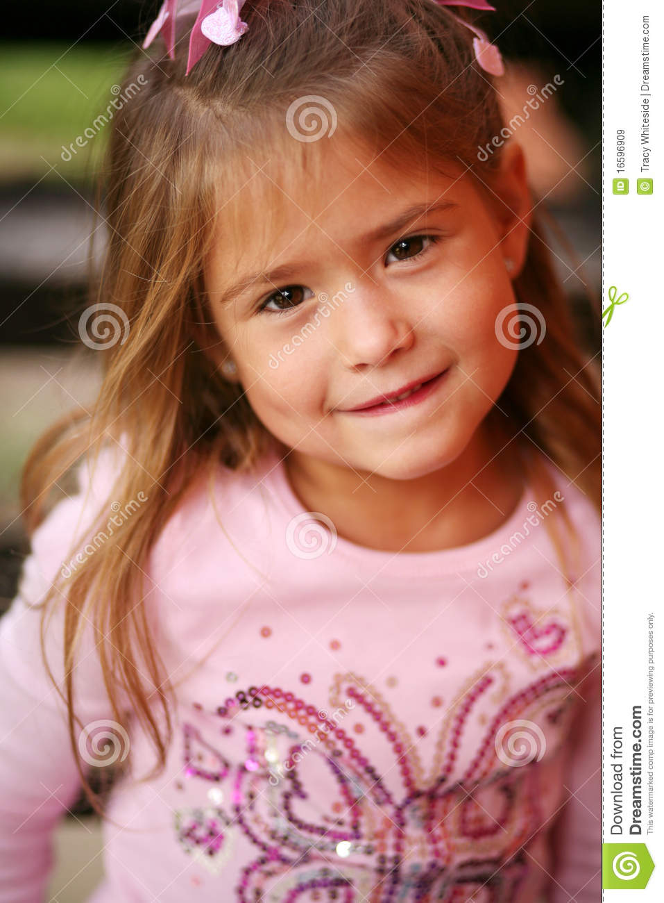 Little Preschool Blonde Girl Royalty Free Stock Images - Image ...