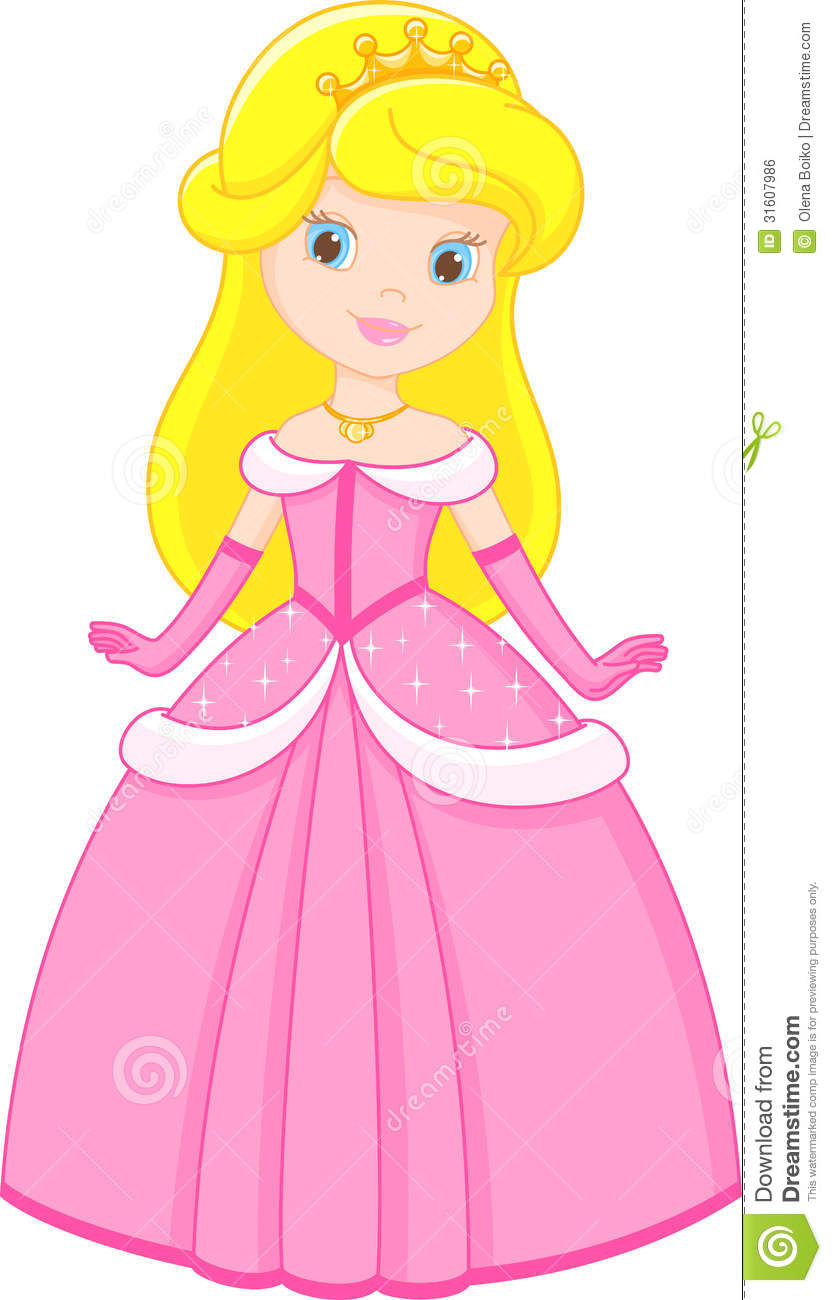 Little princess stock vector illustration of small for Small princess