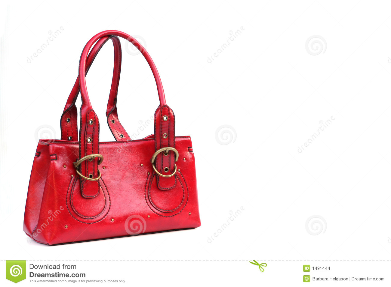 The little red purse