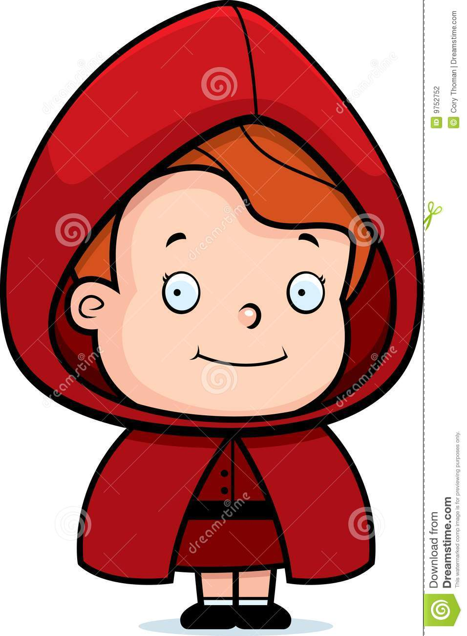 Cartoon Characters In The Hood : Little red riding hood stock photography image