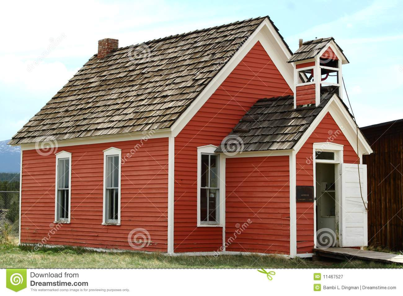 Red school house images