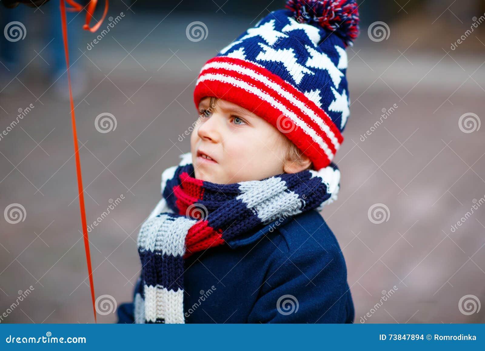 Little Sad Kid Boy Crying Outdoors On Christmas Market Stock Photo - Image of people ...