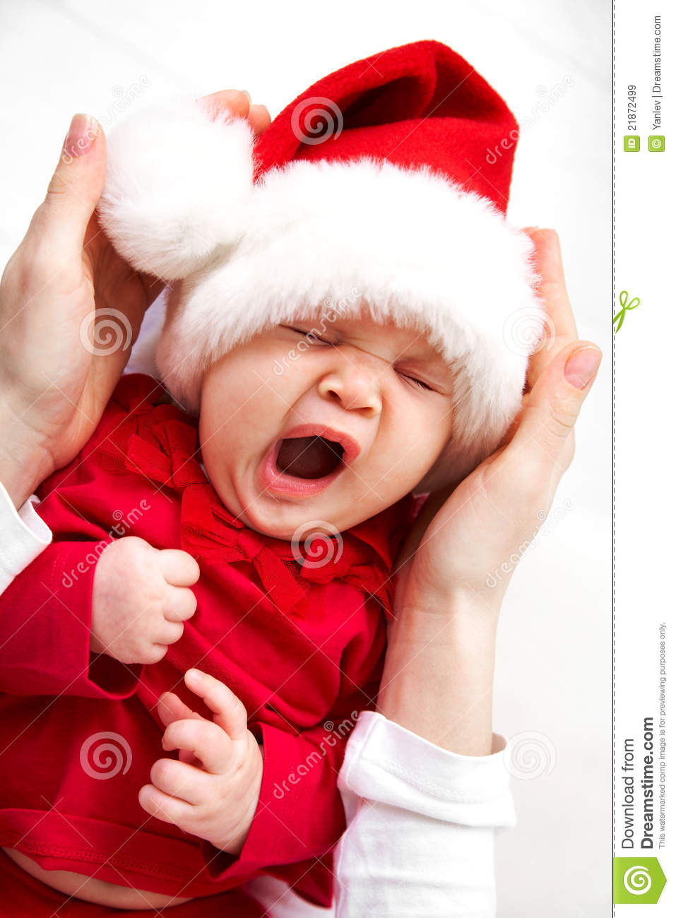 83292f1dba5a9 Little Santa stock image. Image of mother