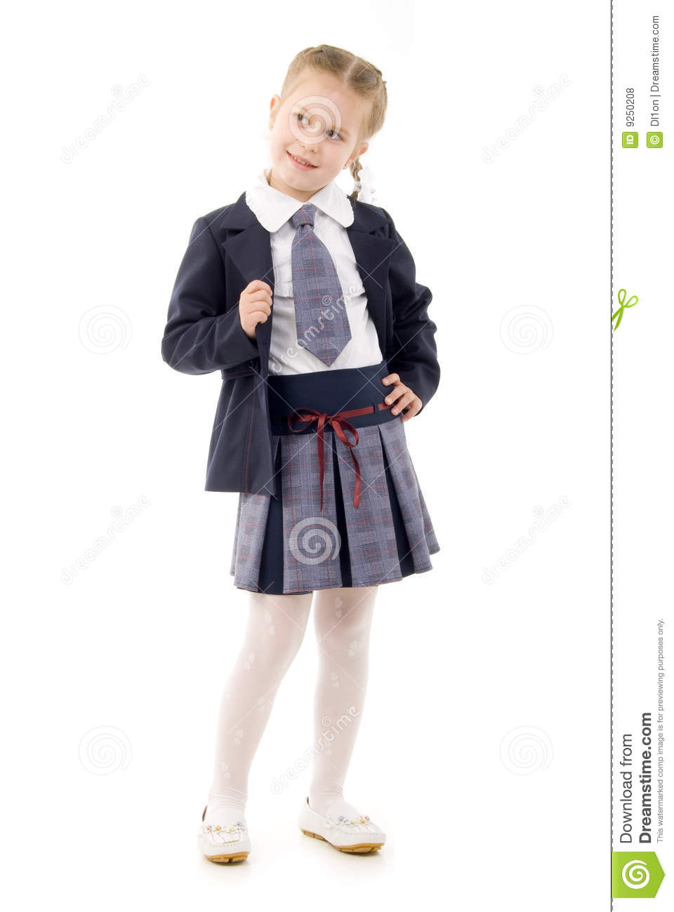 little schoolgirl: