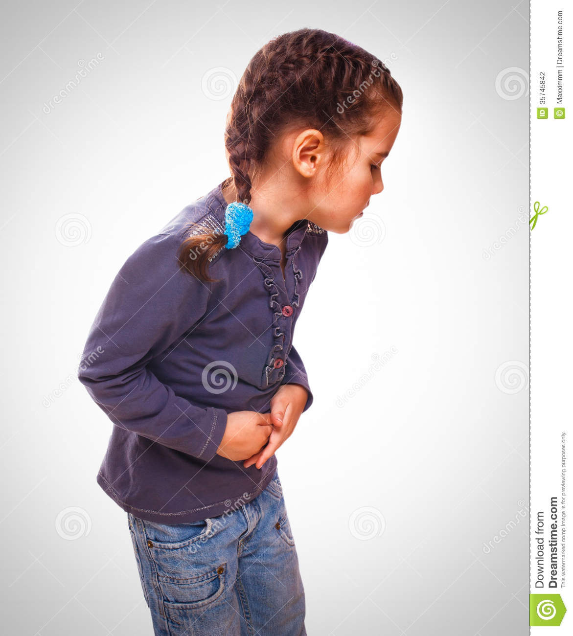 Stomach pain from probiotic foods