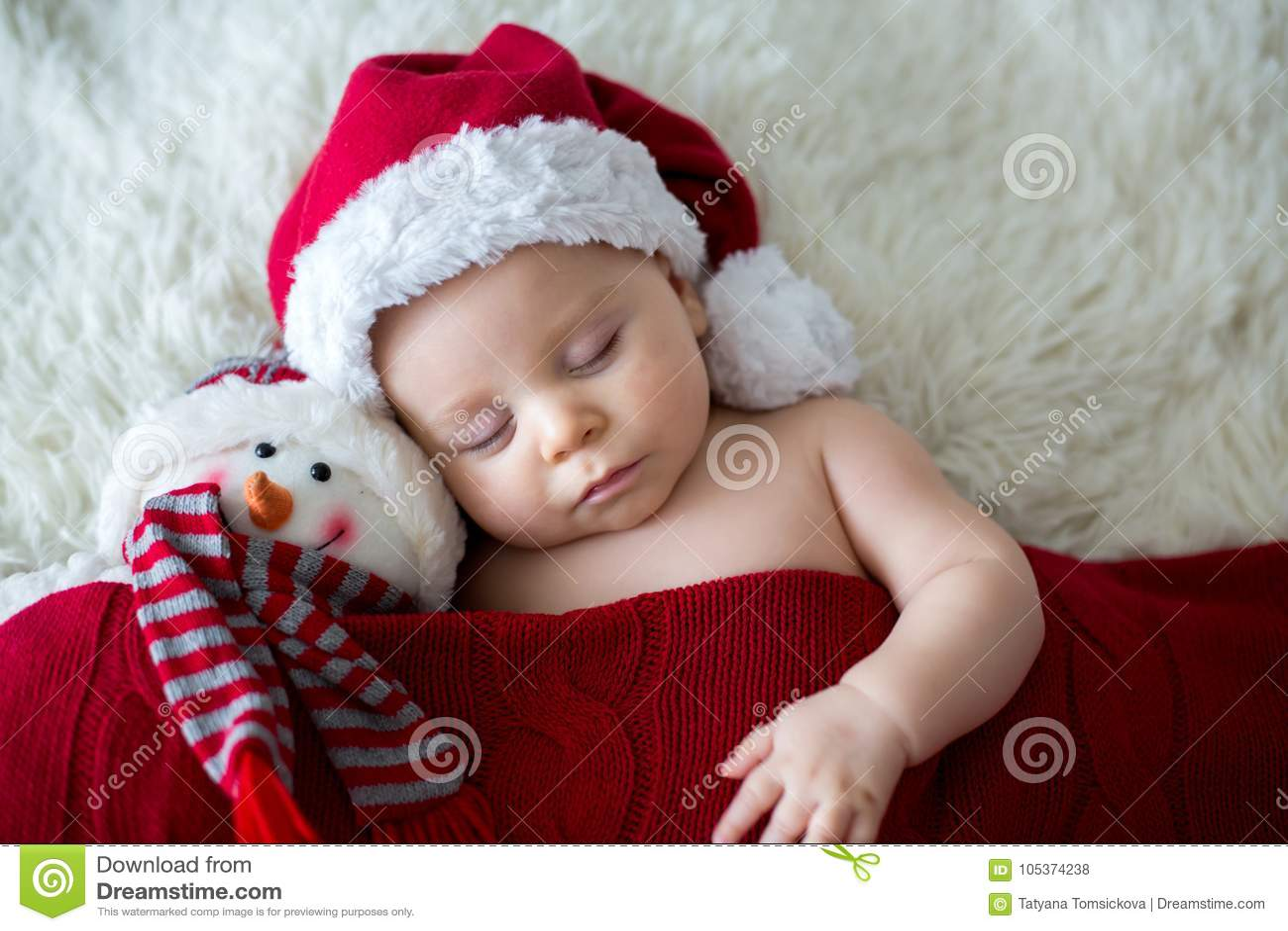 2b1106ac3a4c3 Little Sleeping Newborn Baby Boy