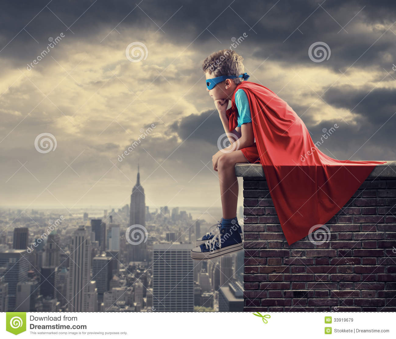 little superhero royalty free stock images image 33919679