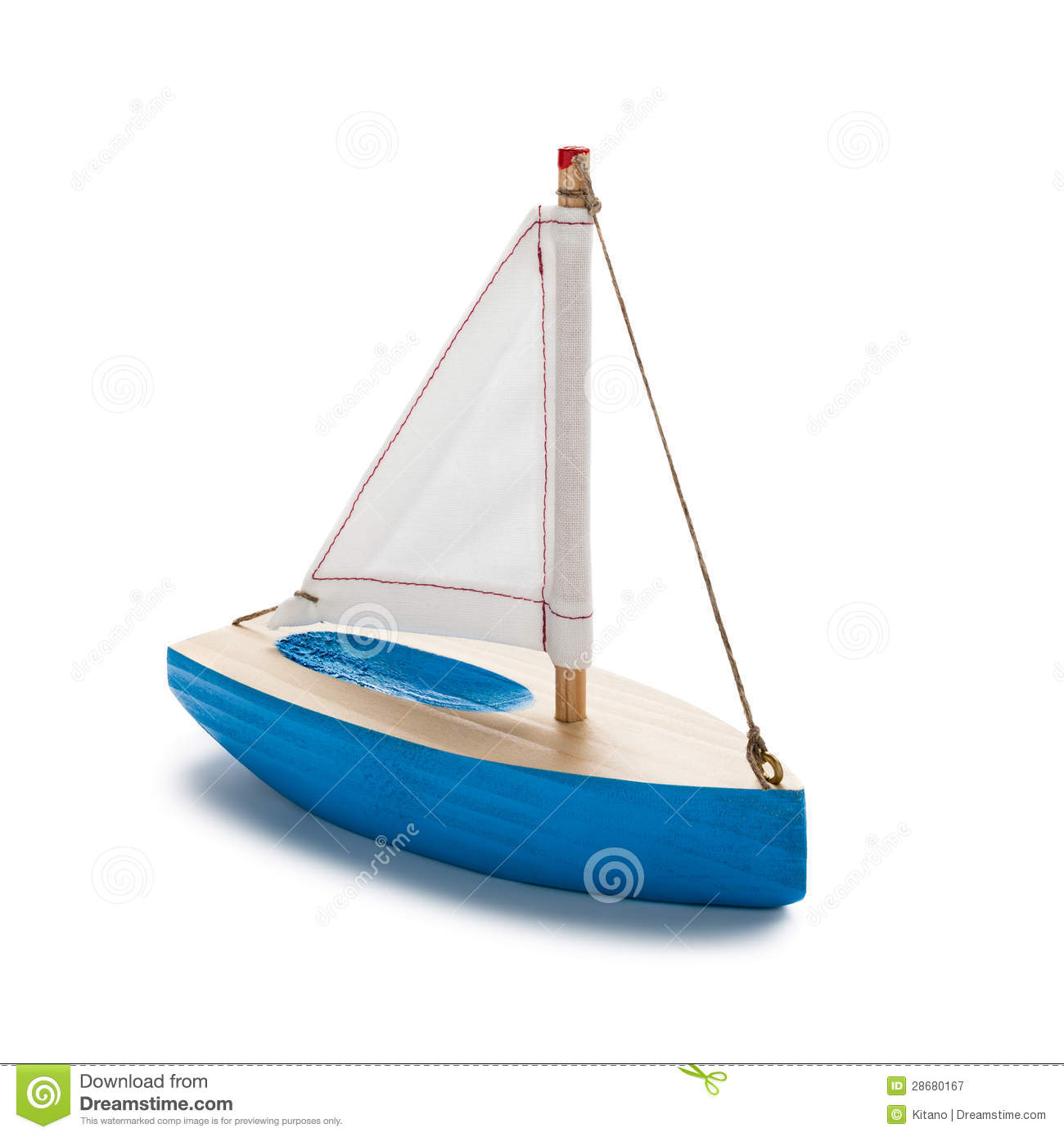 Little Toy Boat Royalty Free Stock Photography - Image: 28680167