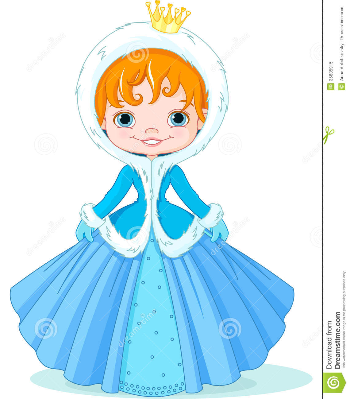 Little winter princess royalty free stock photo image - Images princesse ...