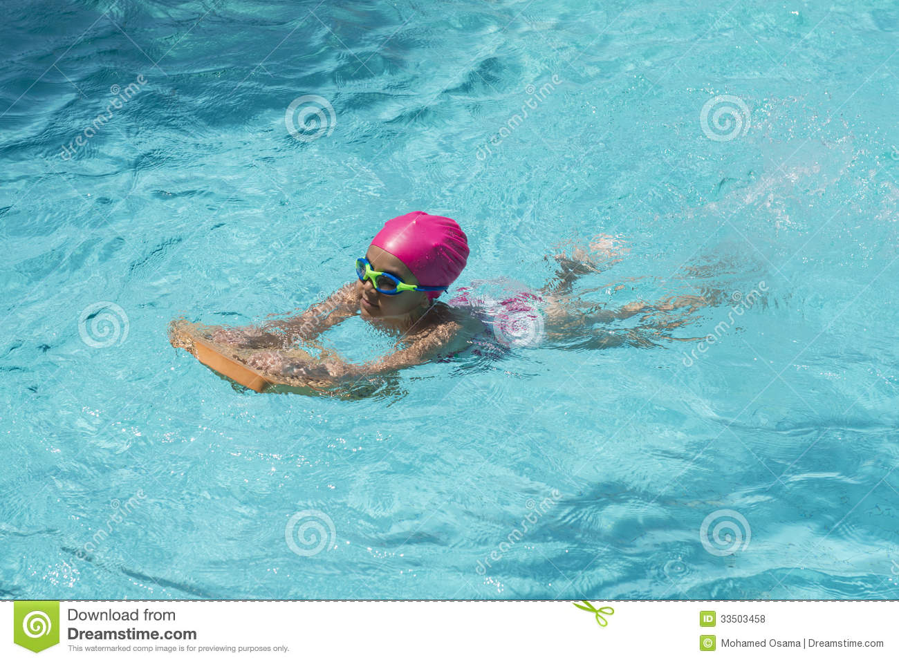 Little young girl swimming in a pool stock photo image of holiday childhood 33503458 for Mangalore swimming pool timings