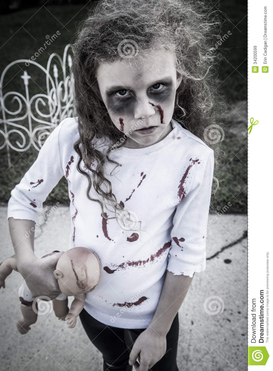 Cool Scary Halloween Costumes For Kids Girls