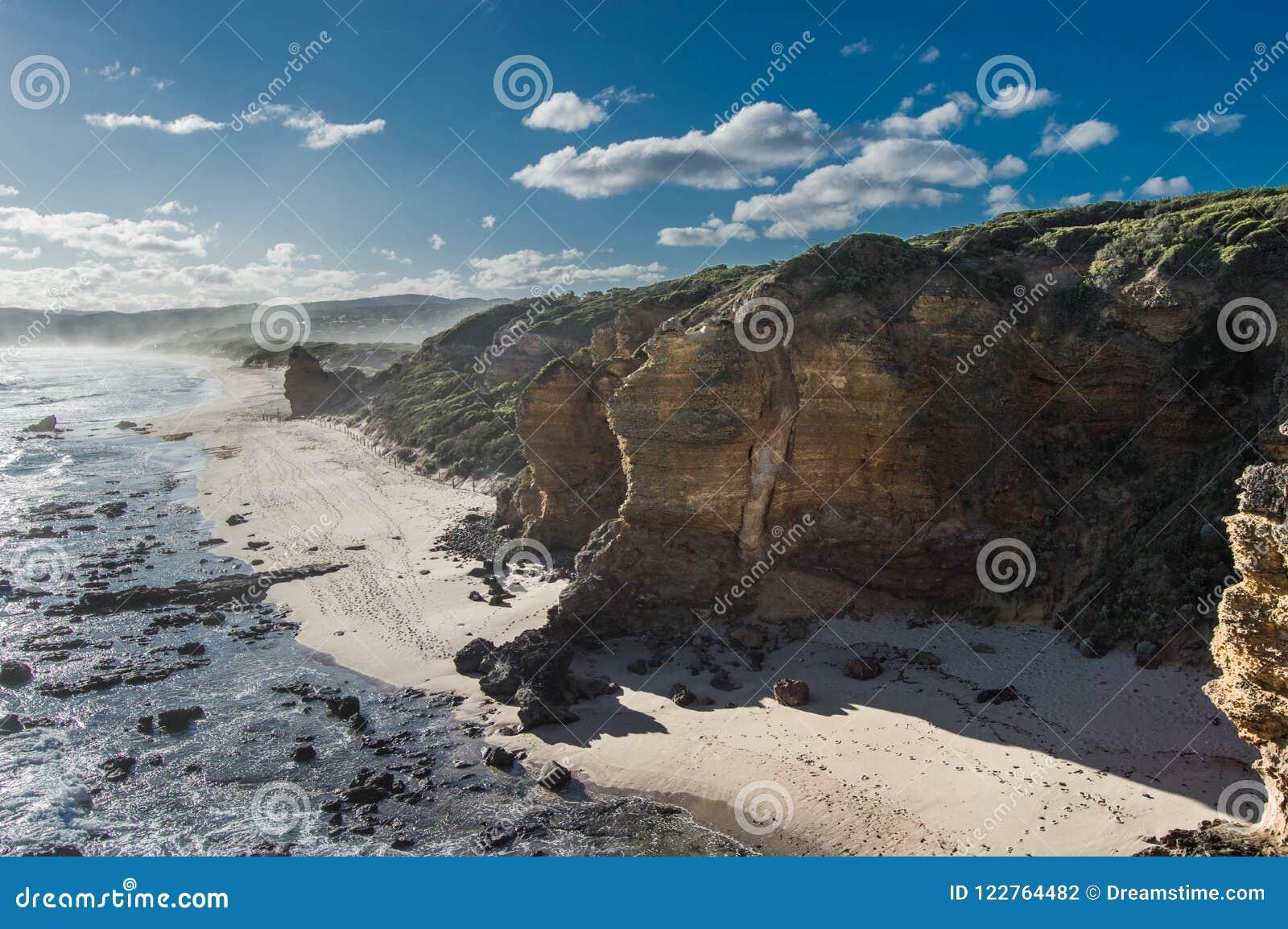 Littoral australien Cliff Melbourne