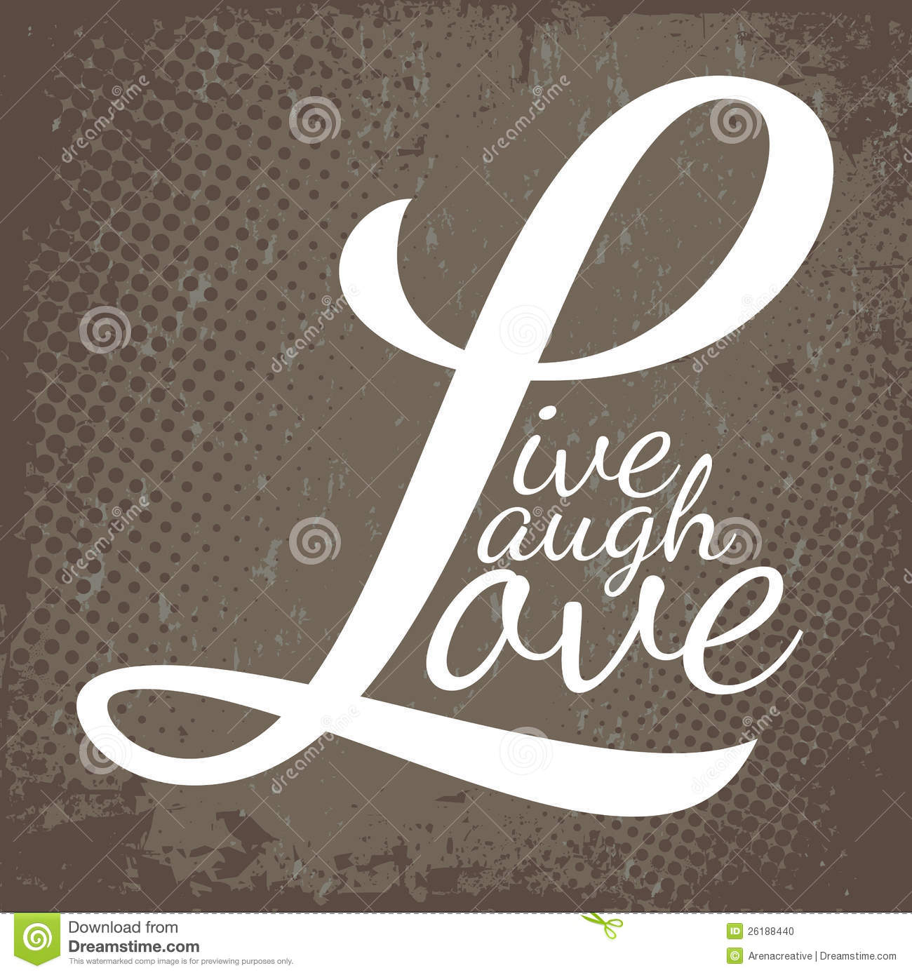 Us Stock Live Quote: Live Laugh Love Stock Vector. Image Of Concept, Sayings