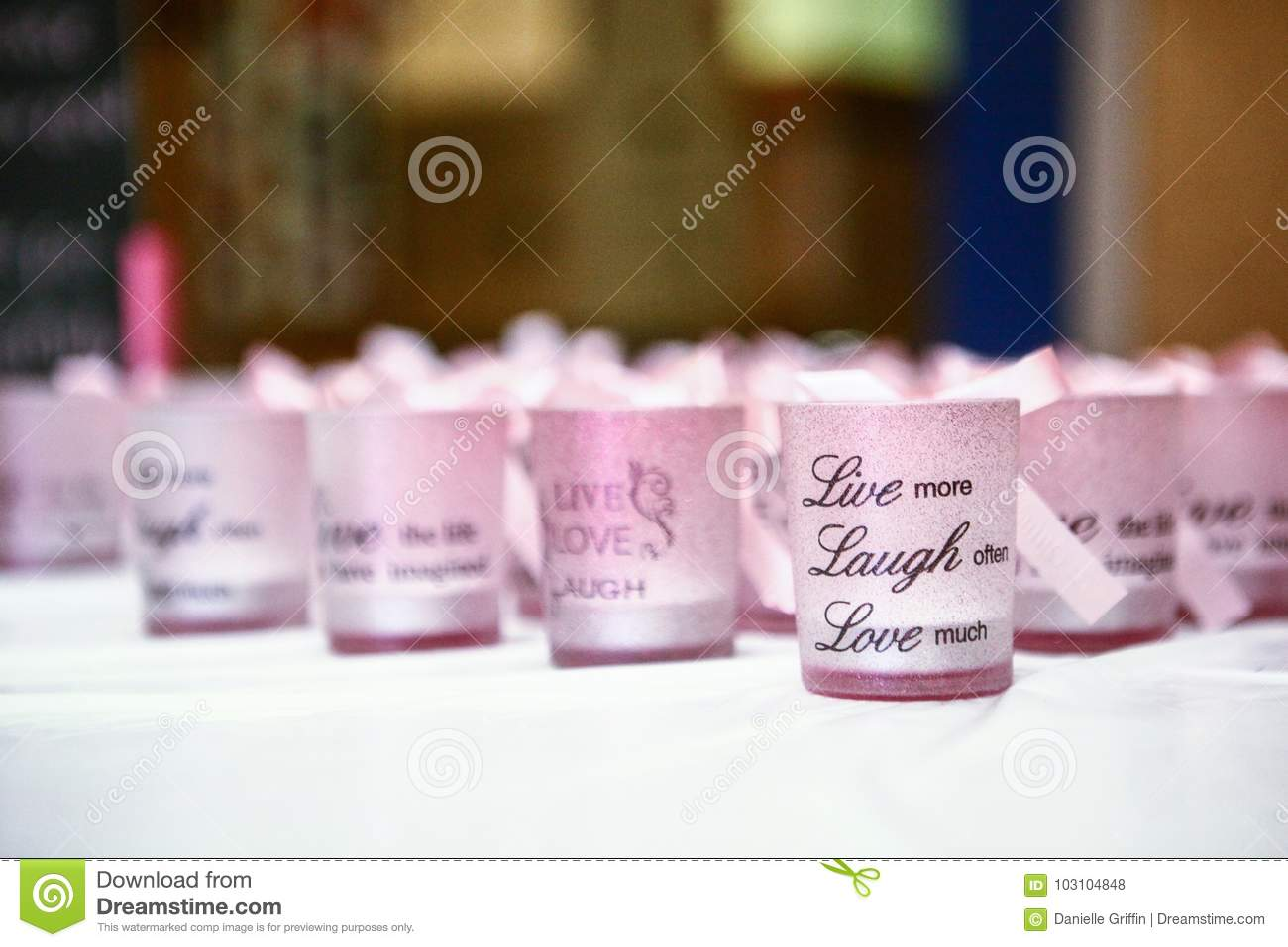 Live Laugh Love stock photo. Image of pink, saying, appreciation ...