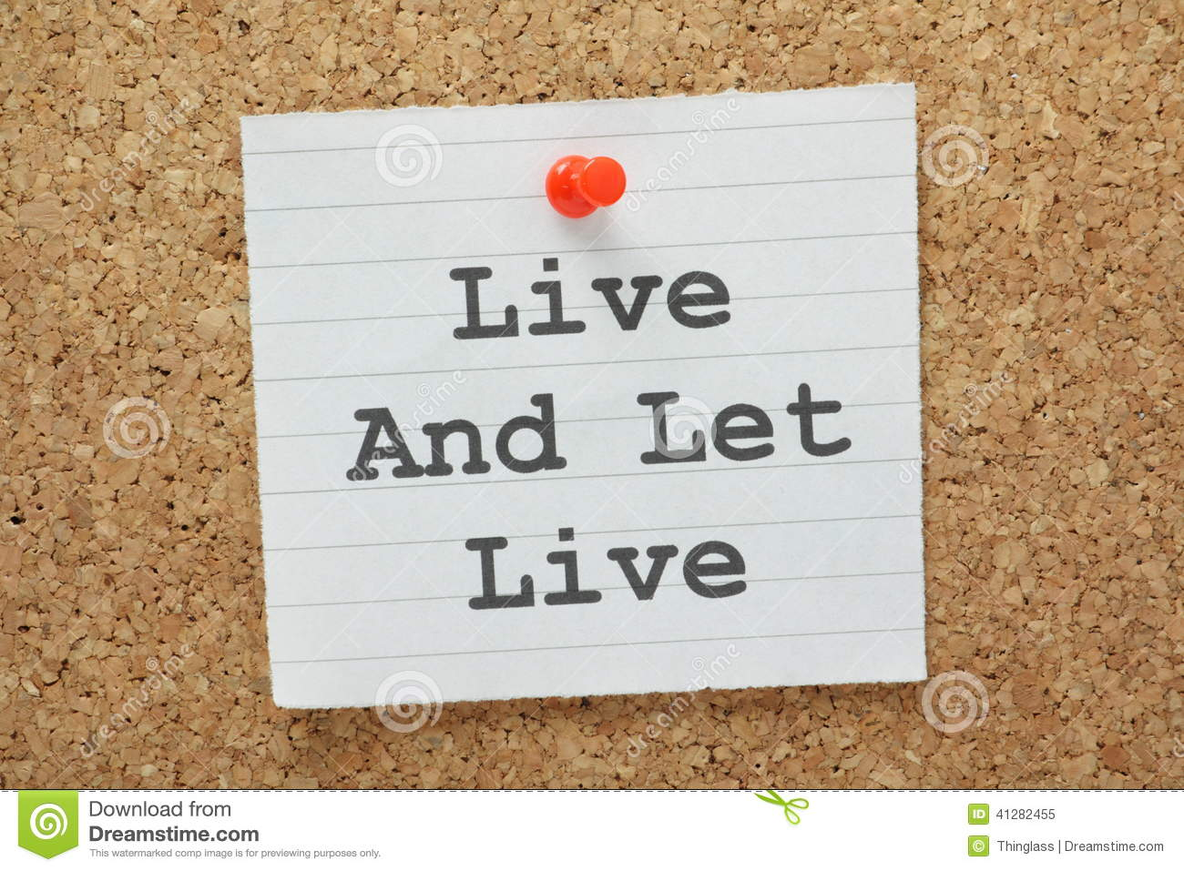 essay on live and let live others Live and let others live quotes - 1 let go of the judgments, forgive the past, and let this moment be as incredible as it is read more quotes and sayings about live.
