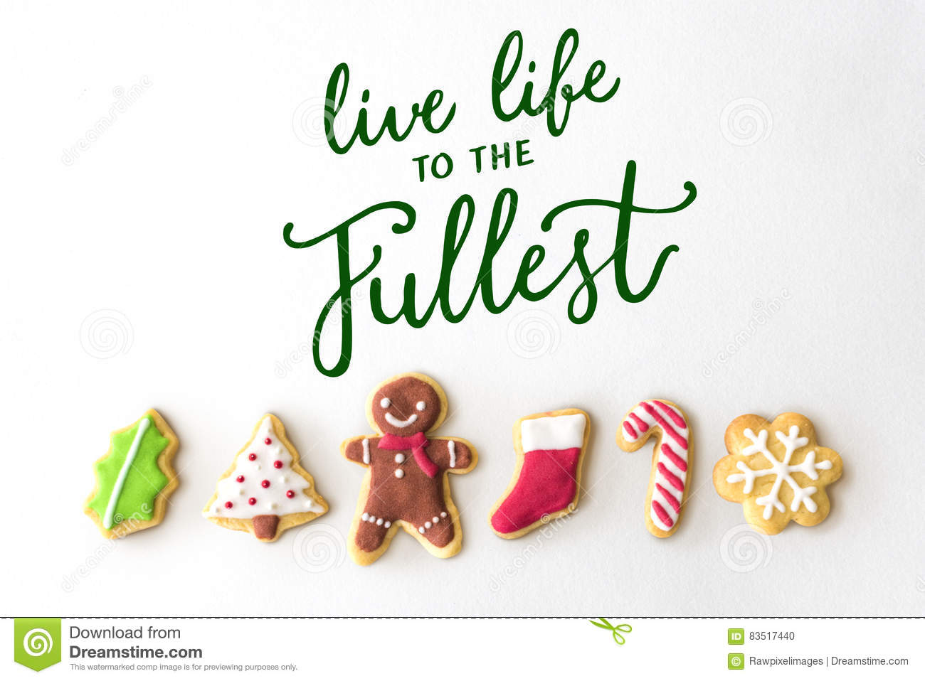 Live Life To The Fullest Quotes Live Life To The Fullest Quote Message Concept Stock Photo  Image