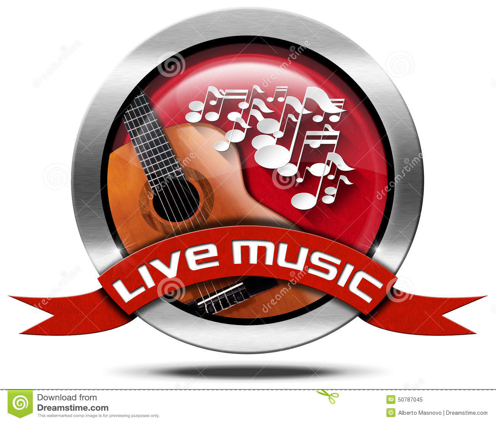 Arts Live Song Room: Metal Icon Stock Illustration. Illustration