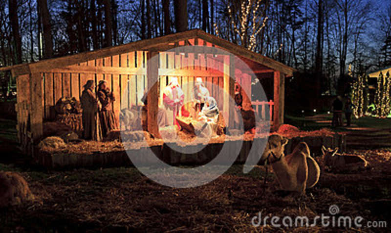 live nativity christmas at the billy graham library