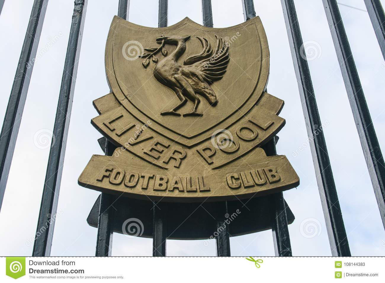 Liverpool Logo Editorial Stock Photo. Image Of Emblem
