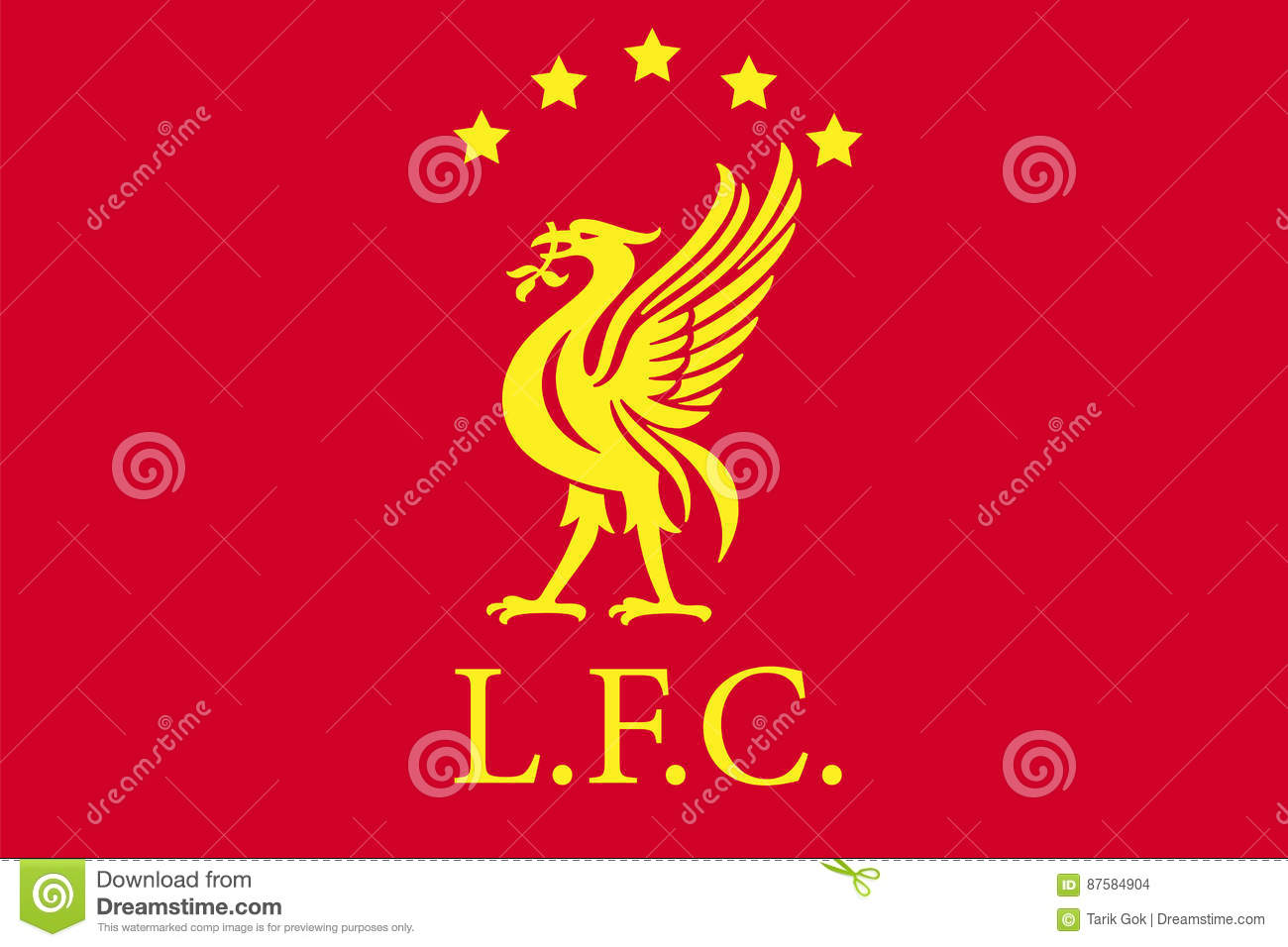 Liverpool F.C. Editorial Stock Image. Illustration Of